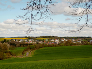 Eckfeld, Dorfansicht