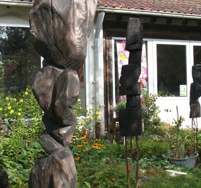 Bildhauerei in der besonderen Athmosphäre des Atelier AAK 1